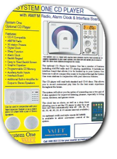 Valet System One CD Player Brochure