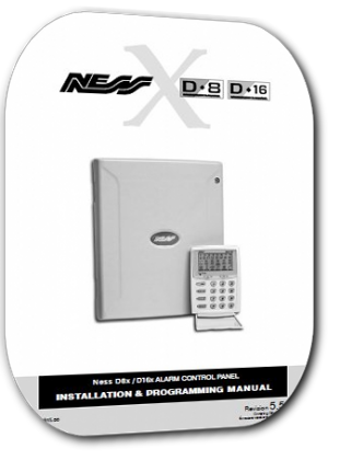 Valet D8/D16 (ness d8/d16) installation and programming guide