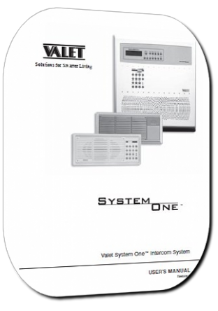 Valet System One Music Intercom System Users Manual